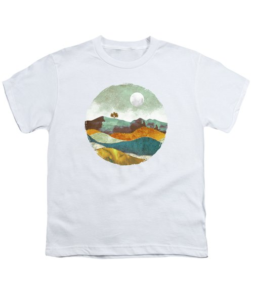 Night Fog Youth T-Shirt by Spacefrog Designs
