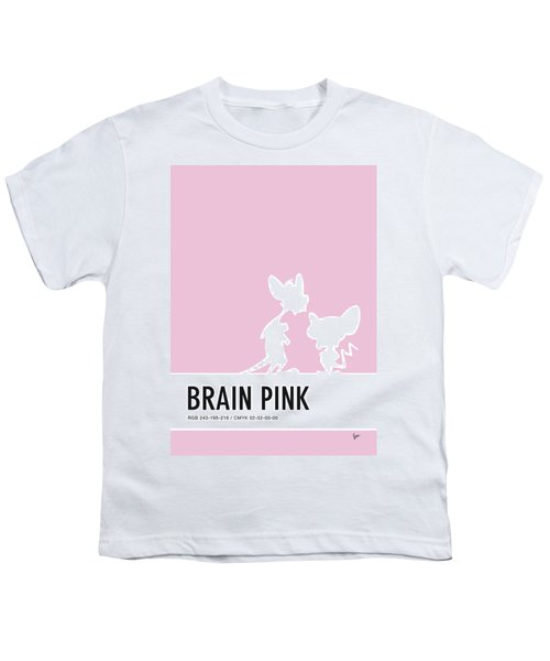 No01 My Minimal Color Code Poster Pinky And The Brain Youth T-Shirt