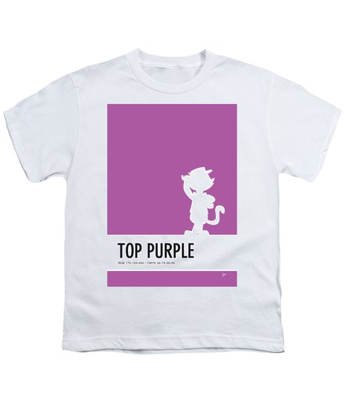 No11 My Minimal Color Code Poster Top Cat Youth T-Shirt