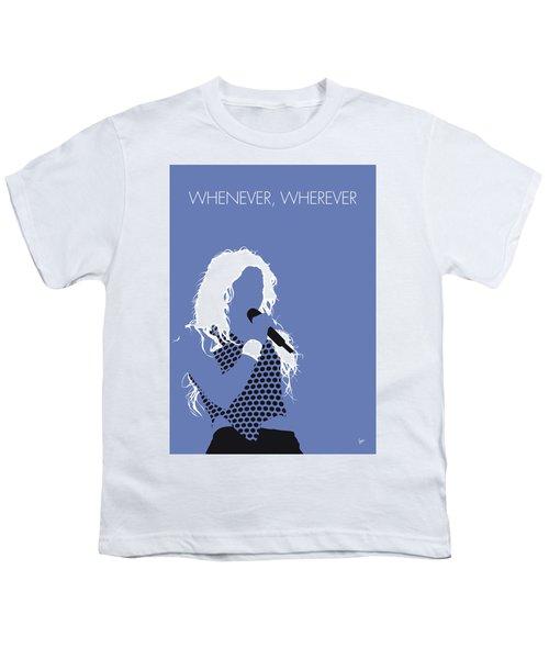 No168 My Shakira Minimal Music Poster Youth T-Shirt