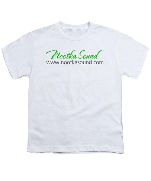 Nootka Sound Logo #10 Youth T-Shirt by Nootka Sound