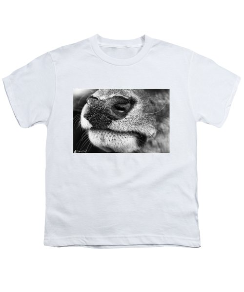 Nosy Nose  #monochrome #canon Youth T-Shirt
