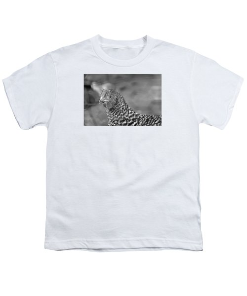 Youth T-Shirt featuring the photograph Not Your Chicken Dinner by Lora Lee Chapman
