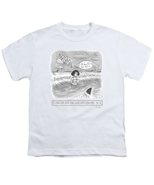Oh Boy I've Won The - 1,000,000,000,000,000,000,000,000 To 1 Youth T-Shirt