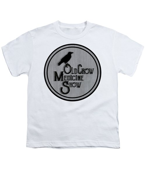 Old Crow Medicine Show Sign Youth T-Shirt by Little Bunny Sunshine