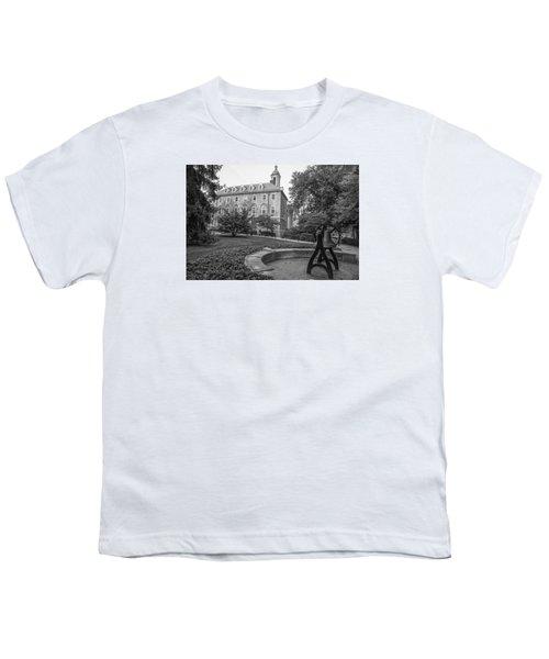 Old Main Penn State University  Youth T-Shirt by John McGraw