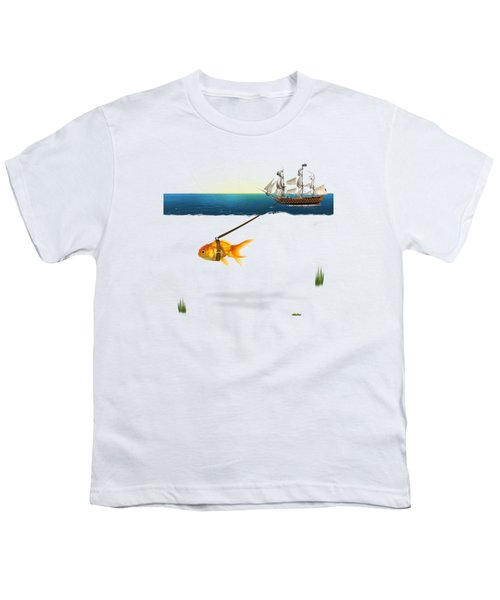 On The Way  Youth T-Shirt by Mark Ashkenazi