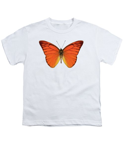 Orange Butterfly Species Appias Nero Neronis  Youth T-Shirt