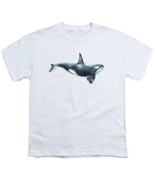 Orca Youth T-Shirt by Amy Hamilton