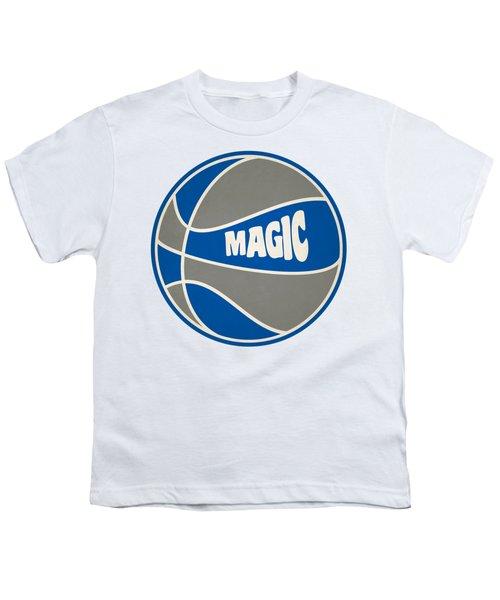 Orlando Magic Retro Shirt Youth T-Shirt by Joe Hamilton