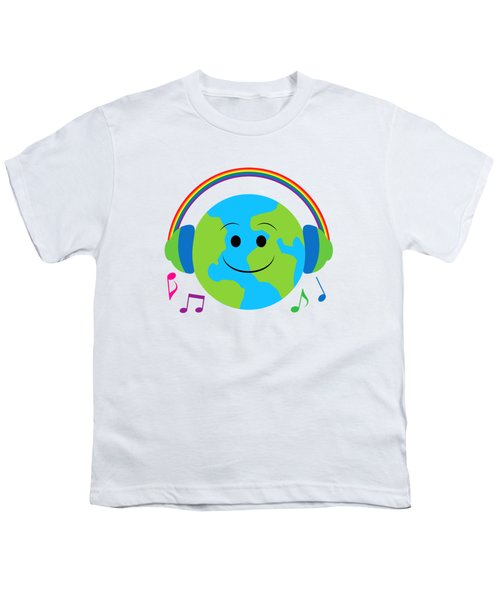 Our Musical World Youth T-Shirt by A