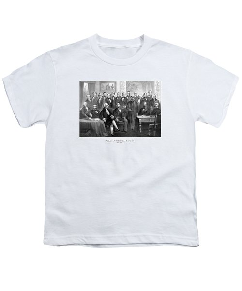 Our Presidents 1789-1881 Youth T-Shirt by War Is Hell Store