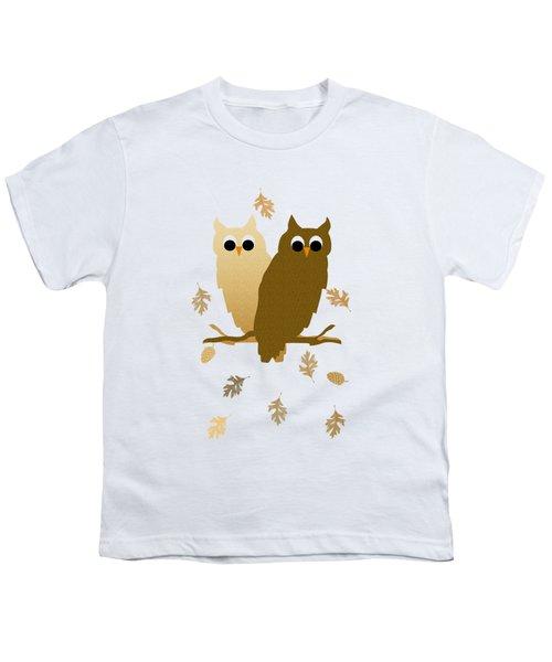 Owl Pattern Youth T-Shirt