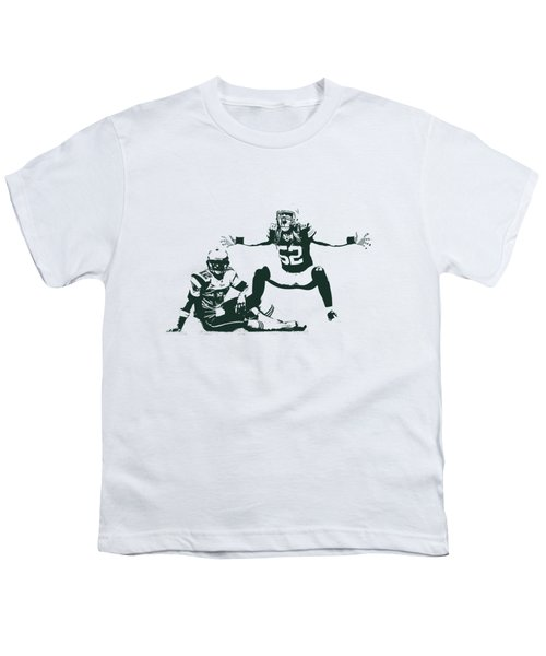 Packers Clay Matthews Sack Youth T-Shirt
