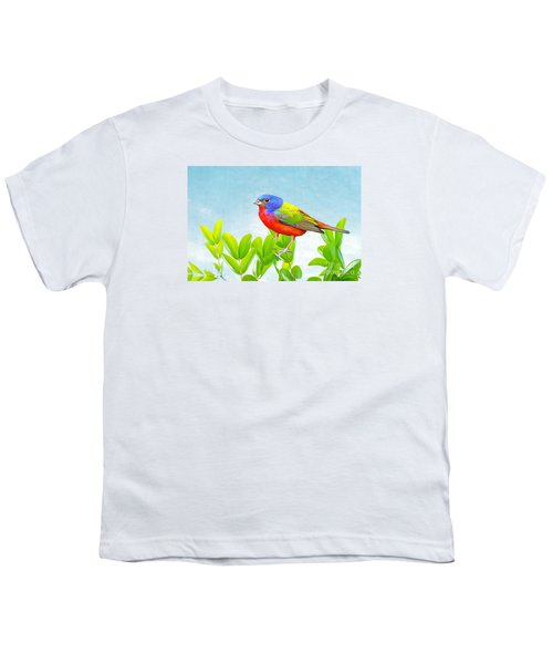 Painted Bunting Youth T-Shirt