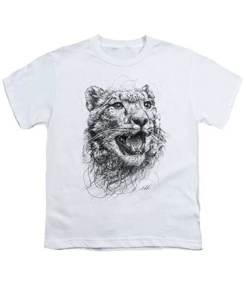 Leopard Youth T-Shirt by Michael Volpicelli
