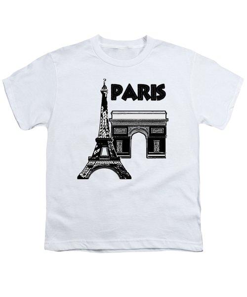 Paris Graphique Youth T-Shirt