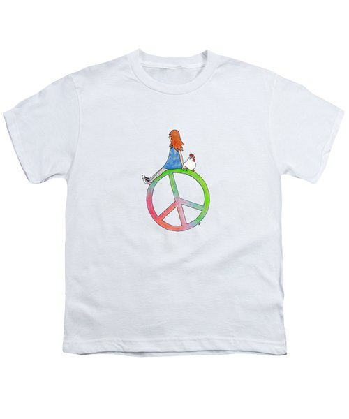 Peace And Hope Youth T-Shirt