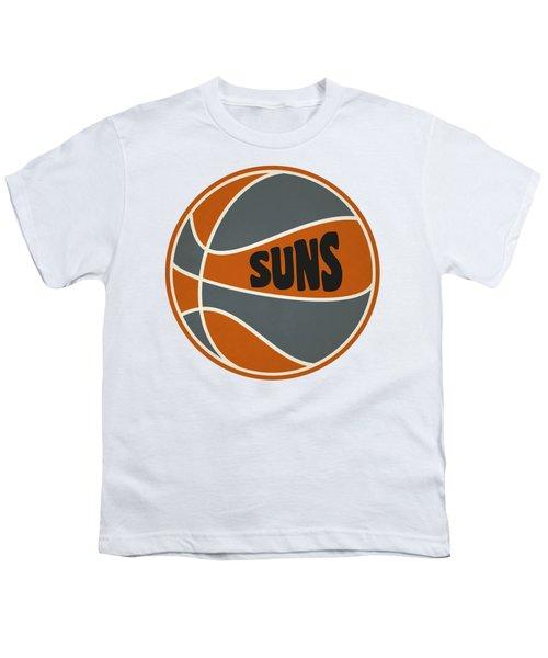 Phoenix Suns Retro Shirt Youth T-Shirt by Joe Hamilton