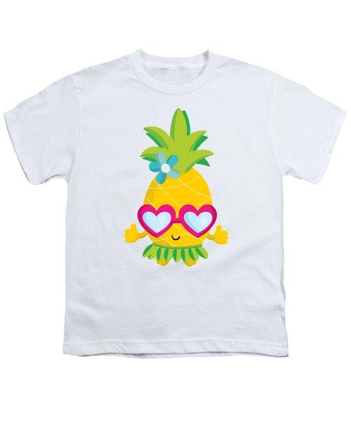 Pineapple Hula Youth T-Shirt