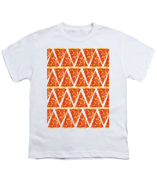 Pizza Slices Youth T-Shirt by Diane Diederich