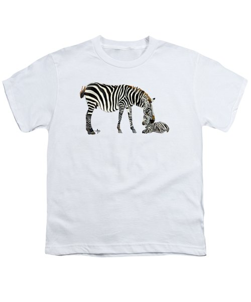 Plains Zebras Youth T-Shirt