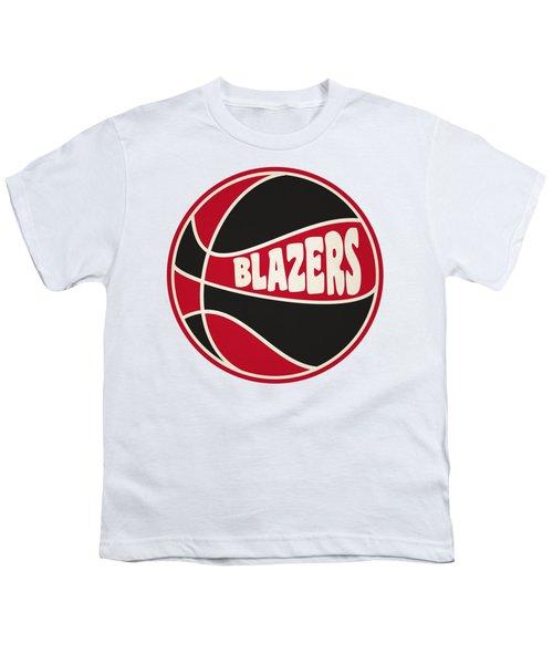 Portland Trail Blazers Retro Shirt Youth T-Shirt