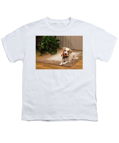 Portrait Of A Dog Youth T-Shirt
