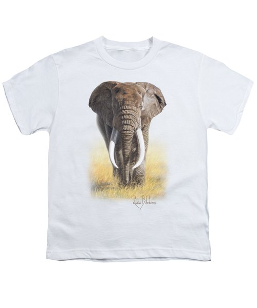 Power Of Nature Youth T-Shirt by Lucie Bilodeau