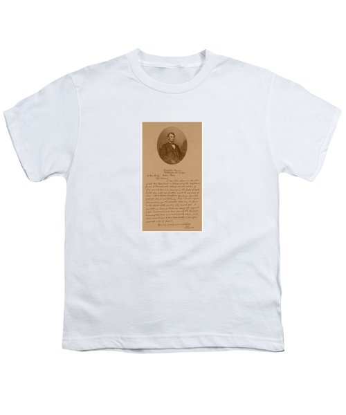 President Lincoln's Letter To Mrs. Bixby Youth T-Shirt