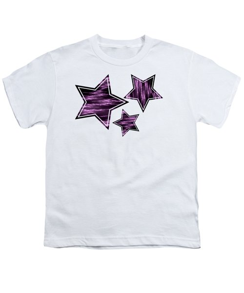 Purple Lightening Youth T-Shirt