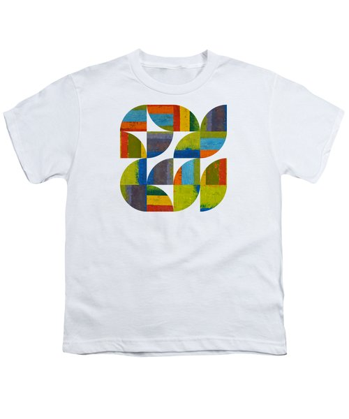 Quarter Rounds 4.0 Youth T-Shirt by Michelle Calkins