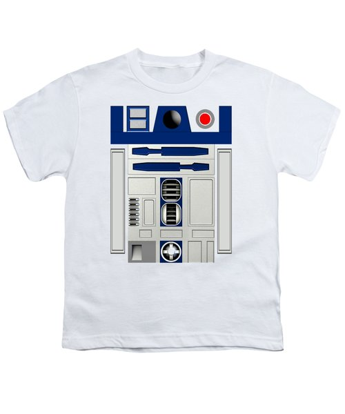R2d2 Youth T-Shirt by Janis Marika