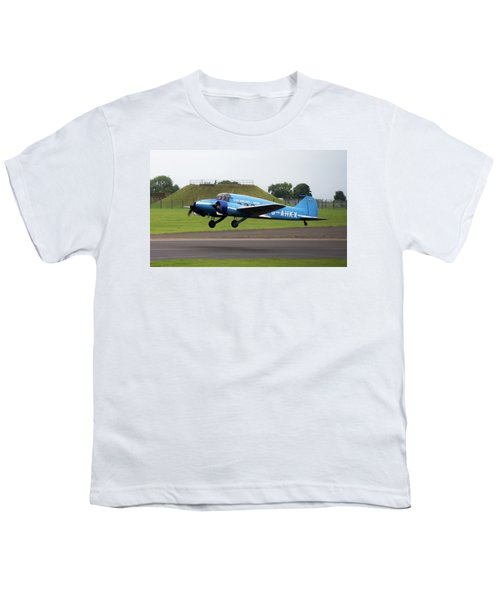 Raf Scampton 2017 - Avro Anson Nineteen During Take Off Youth T-Shirt