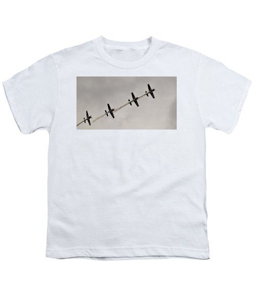 Raf Scampton 2017 - Global Stars In A Line Youth T-Shirt