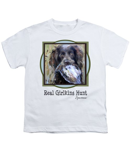 Real Girlkins Hunt Youth T-Shirt