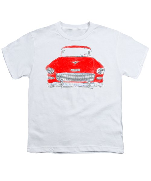 Red Chevy T-shirt Youth T-Shirt