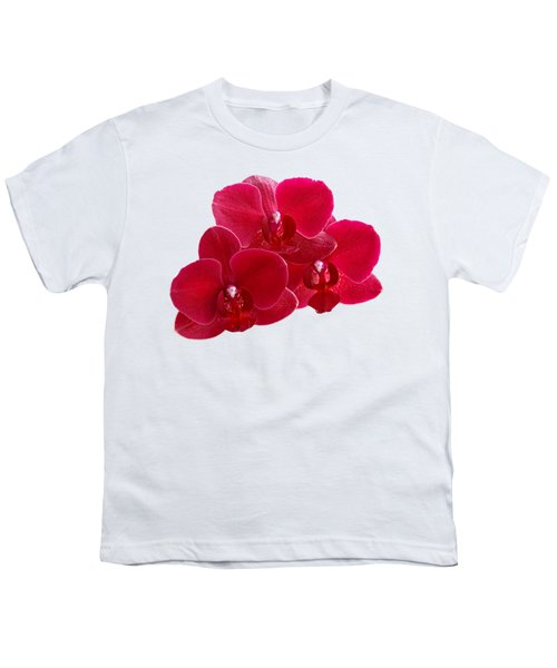 Red Orchid Trio Youth T-Shirt