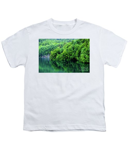 Reflections Of Plitvice, Plitvice Lakes National Park, Croatia Youth T-Shirt