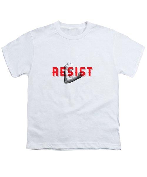 Reisist Arm Tee Youth T-Shirt by Edward Fielding
