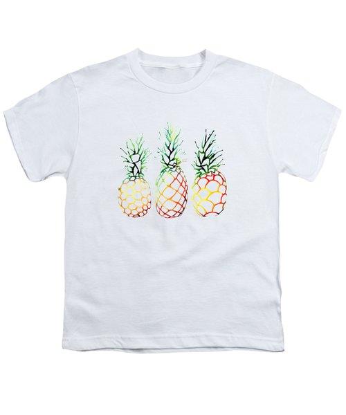 Retro Pineapples Youth T-Shirt