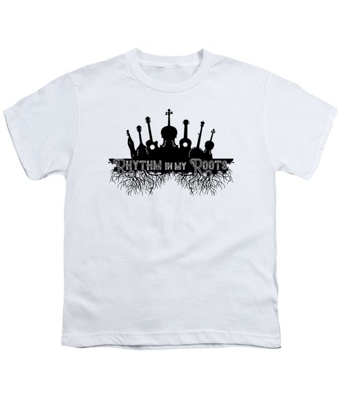Rhythm In My Roots Youth T-Shirt