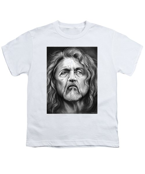 Robert Plant Youth T-Shirt by Greg Joens