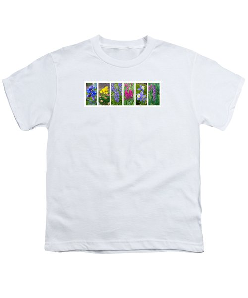 Youth T-Shirt featuring the photograph Rocky Mountain Wildflower Collection by Aaron Spong