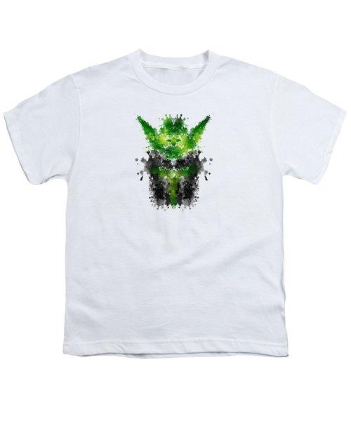 Rorschach Yoda Youth T-Shirt