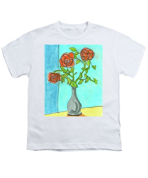 Roses R Red Youth T-Shirt