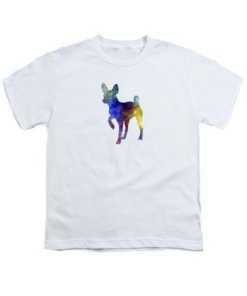 Russian Toy 01 In Watercolor Youth T-Shirt by Pablo Romero
