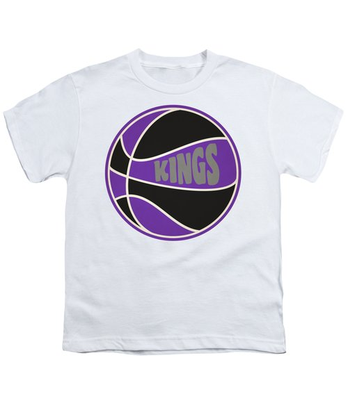 Sacramento Kings Retro Shirt Youth T-Shirt