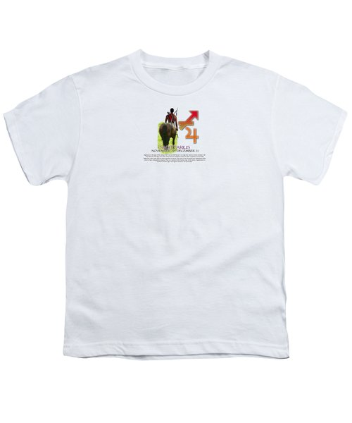 Sagittarius Sun Sign Youth T-Shirt