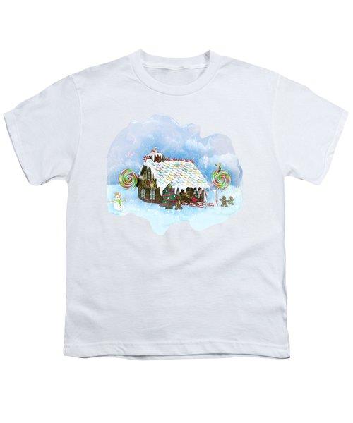Santa Loves Cookies Youth T-Shirt